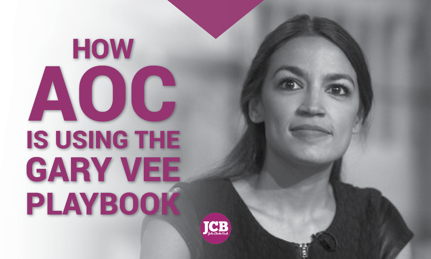 AOC doing Vaynerchuk